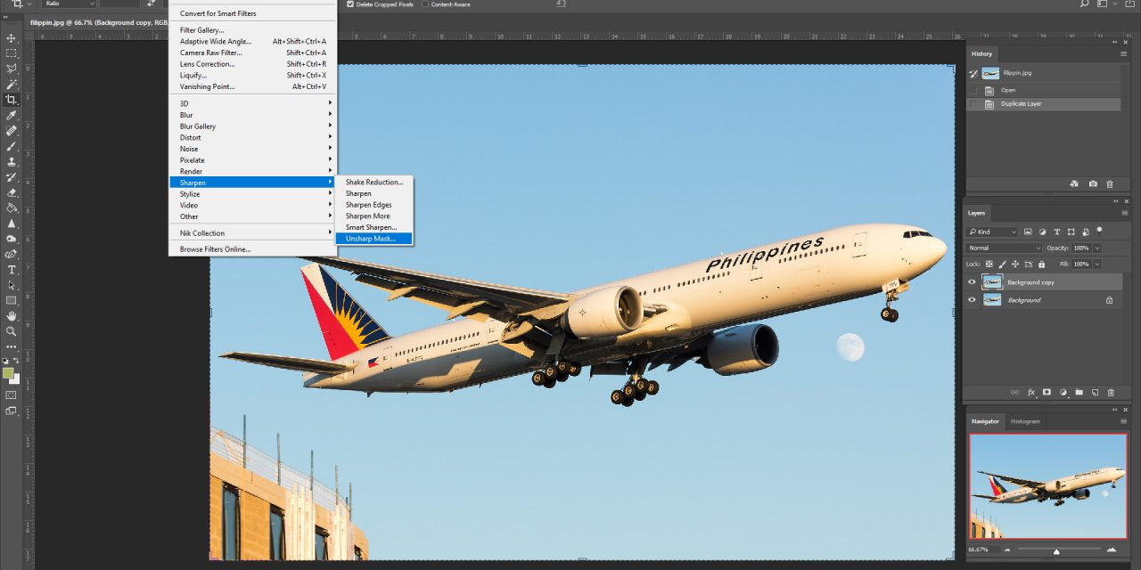 How to sharpen photos in post-processing